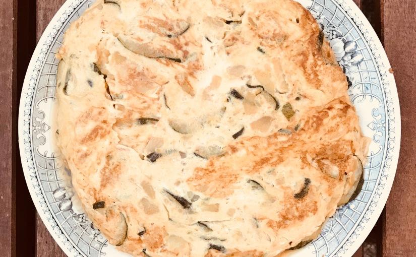 Tortilla de patata ycalabacín