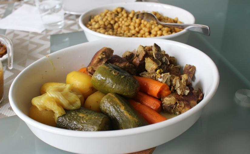 Cuscús marroquí express