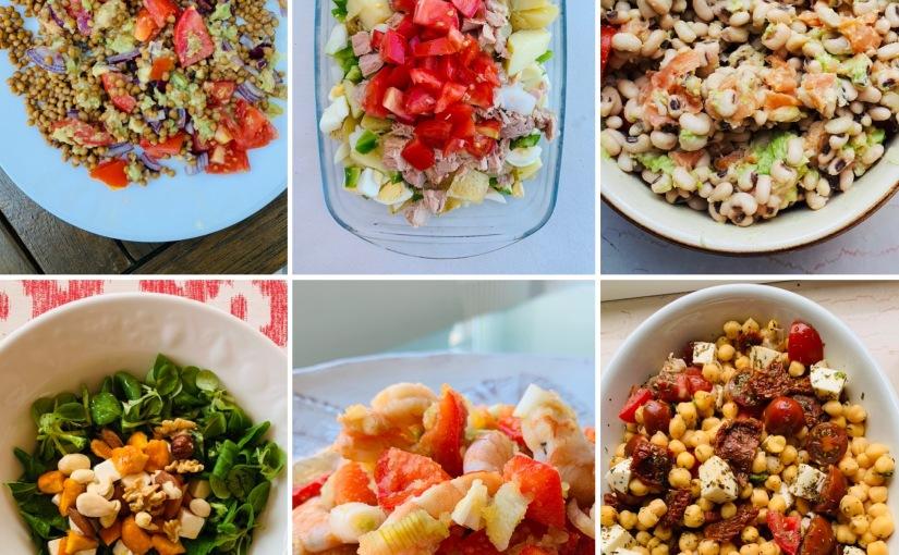 6 ensaladas con las que empezar un estilo de vidasaludable