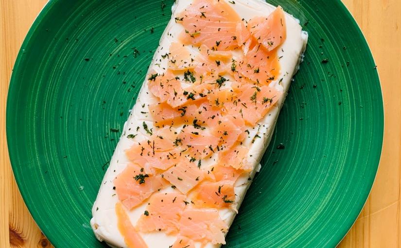 Pastel/mousse de salmón (express y muyproteico!)