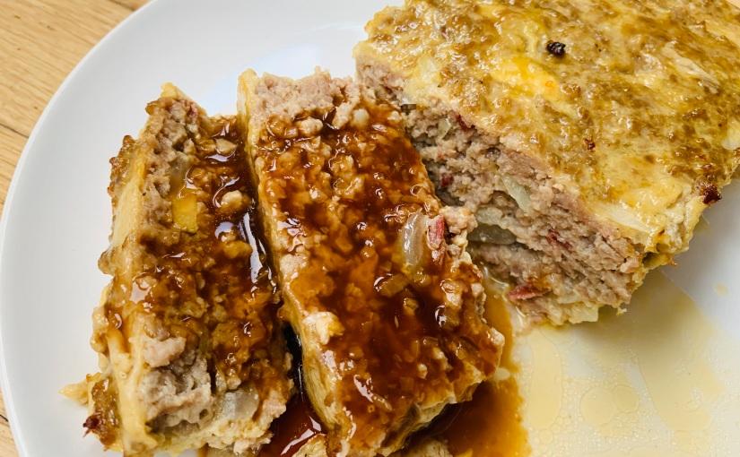 Pastel de carne estilo abuela (con susalsa)